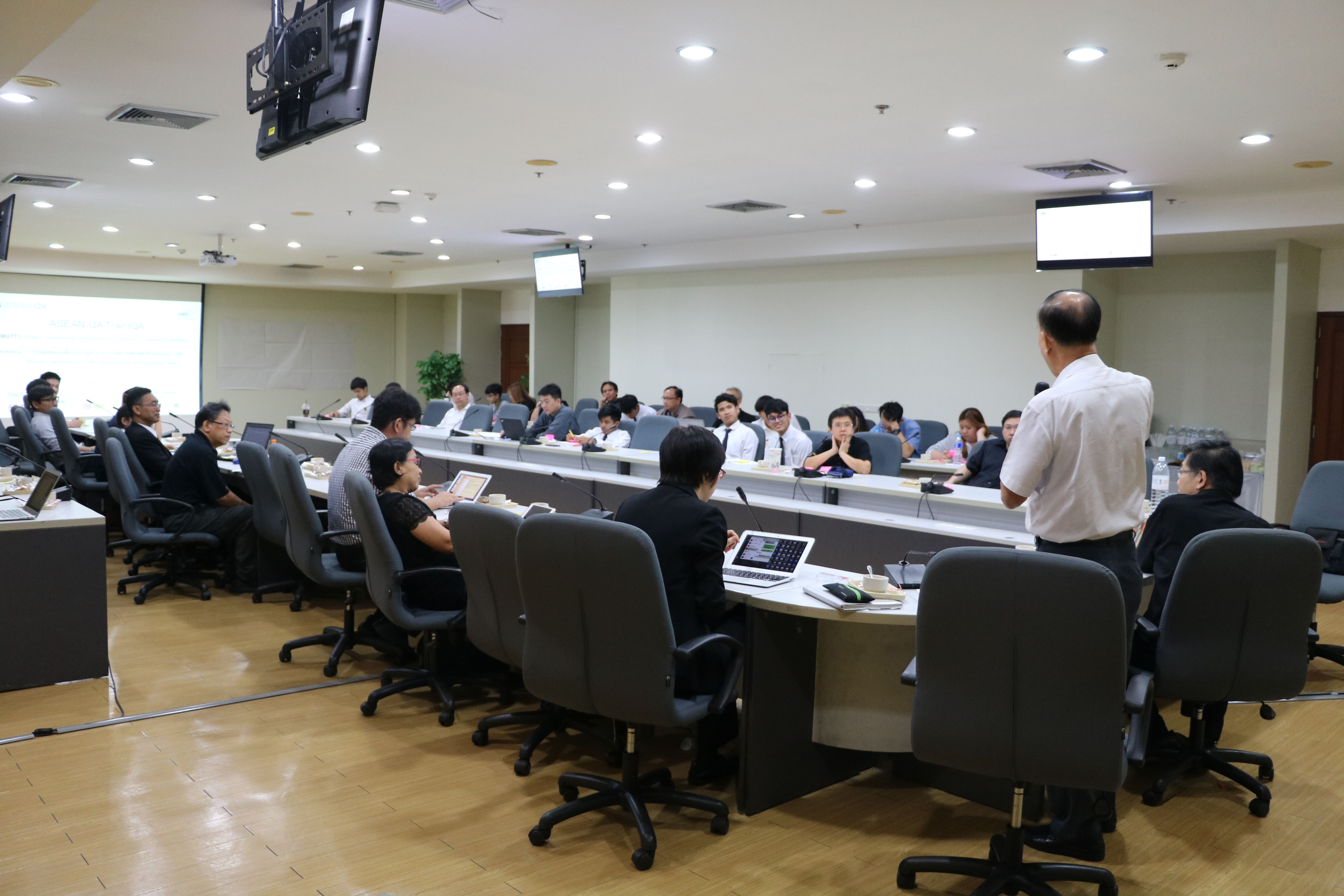 โครงการฝึกอบรม Training on Internal Quality Assurance (TrainIQA)